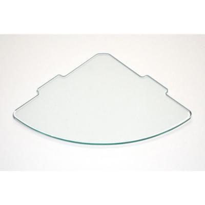 Floating Glass Shelves 1 4 In Curve Glass Corner Shelf Price