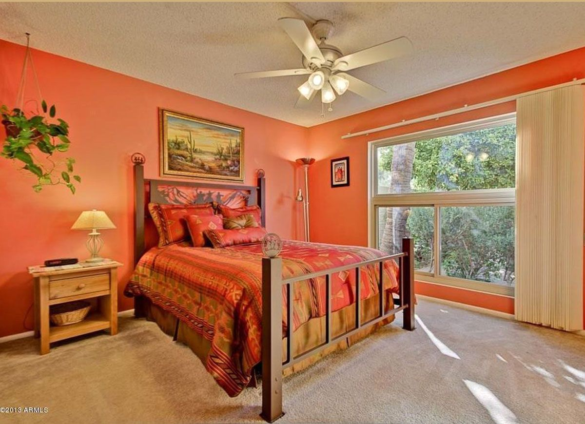 7 paint colors to avoid in the bedroomand why orange