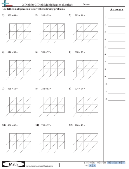 Great Site For Printable Worksheets Free Math Worksheets Math Worksheets Free Math