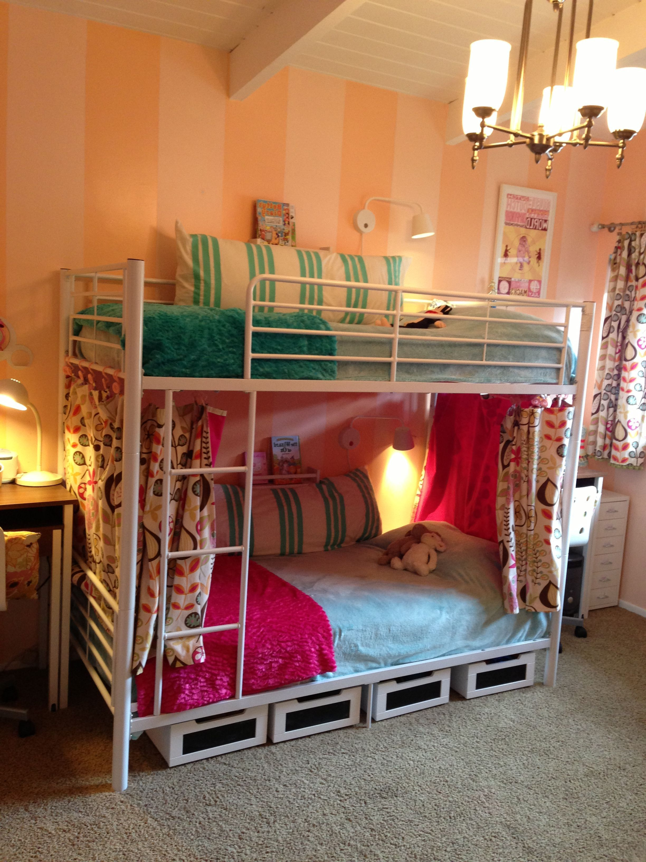 50 Amazing Contemporary Bunk Bed Ideas With Images Metal Bunk Beds Cool Bunk Beds Bunk Beds For Girls Room