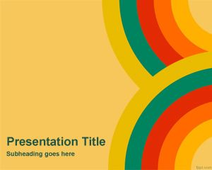 free color wallpaper powerpoint template is a free theme for, Modern powerpoint