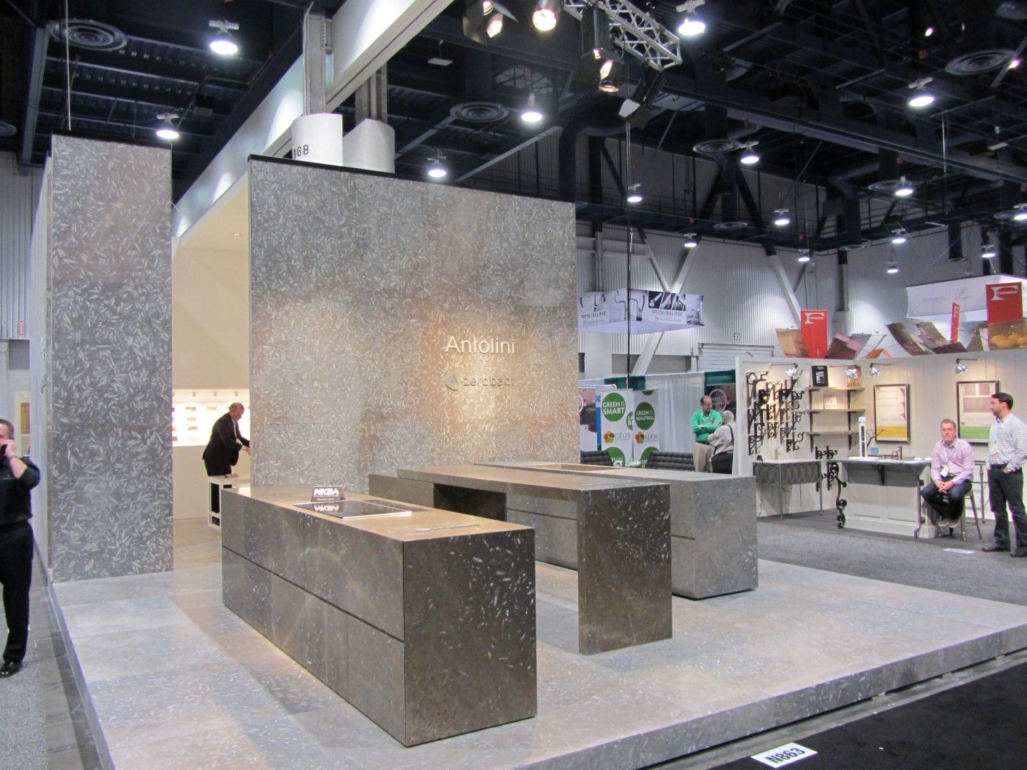 Ordinaire KBIS   Kitchen U0026 Bath Industry Show Las Vegas   USA Il Nostro Stand A KBIS  2014 Our Booth At KBIS 2014 #antolini #KBSI #Azerobact #Jurassiccollection