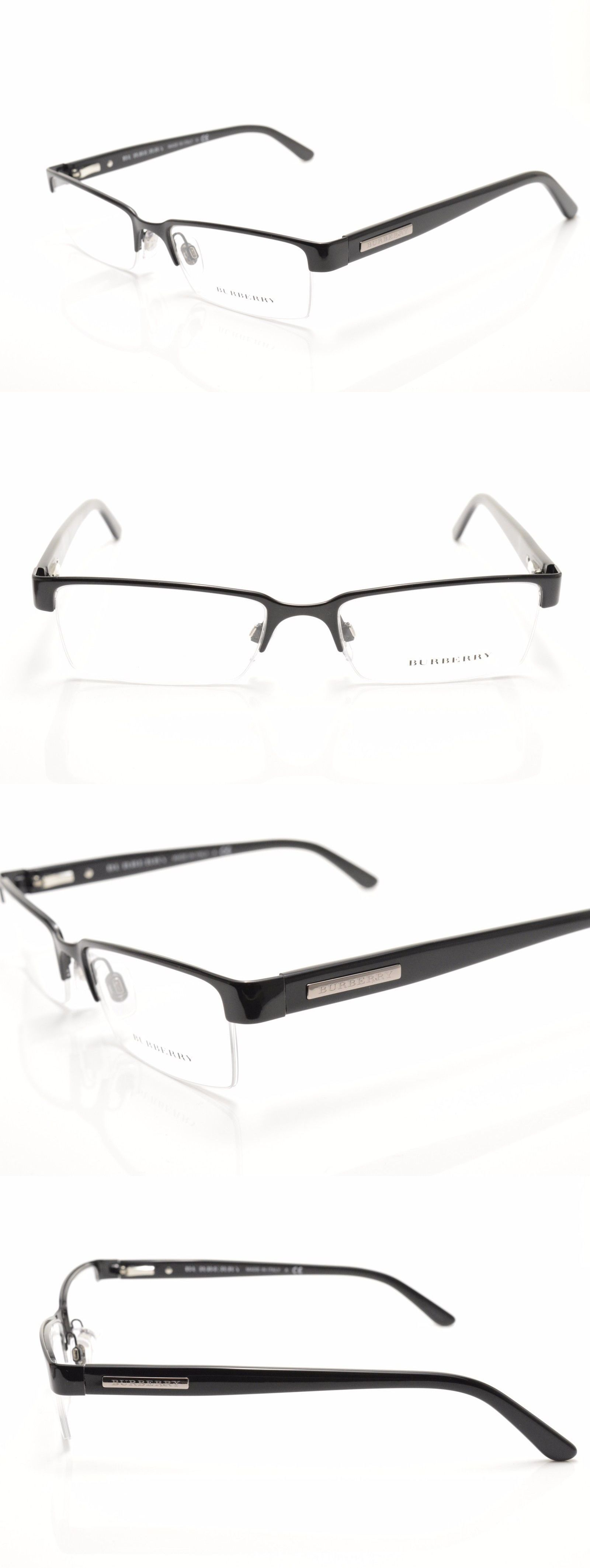 03b087057238 Eyeglass Frames: ?? B 1156 1001 New Authentic Burberry Rx Eyeglasses Frame  52-17-140 Italy BUY IT NOW ONLY: $69.99