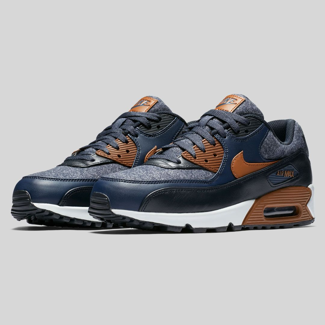 f93cbba4ac The classic Air Max 90 gets remixed with wool material for perfect seasonal  style. #Nike #AirMax #AirMax90 #sneakers #Nikeshoes