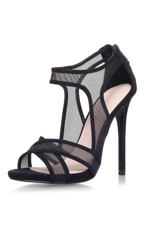 KG by Kurt Geiger Nanette Platform Sandals, Black Snake
