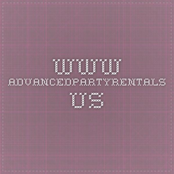 www.advancedpartyrentals.us