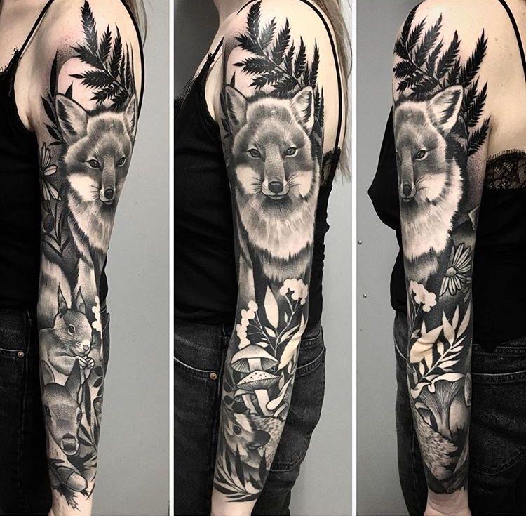 Julia Szewczykowska Fox Tattoo Fox Tattoo Inspirational Tattoos Tattoos