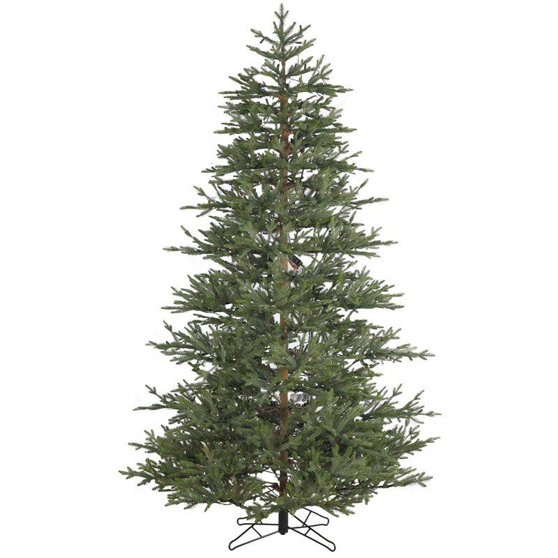 7 5 Foot Unlit Realistic Christmas Tree Williamsburg Pine Medium Realistic Artificial Christmas Trees Realistic Christmas Trees Unlit Christmas Trees