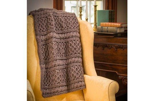 Premier Yarns Downton Abbey® Mrs. Hughes' Afghan | Crochet ...