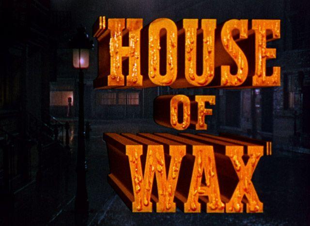 #HouseOfWax, opening credits, 1953, 3D.
