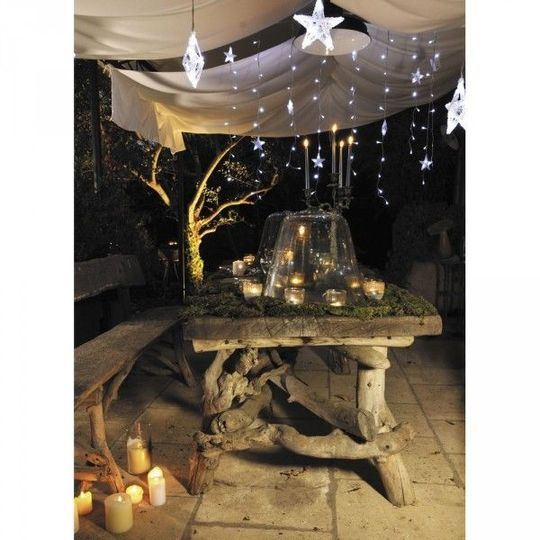 D co de no l ext rieur 20 id es lumineuses pour le for Decoration de noel pour terrasse