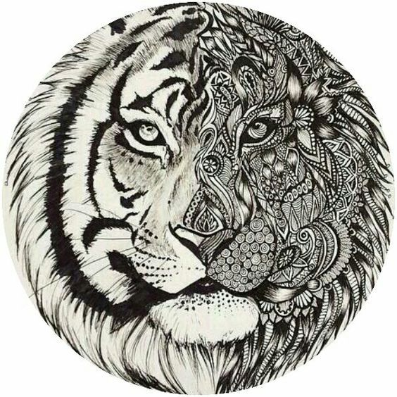 http://colorings.co/adult-coloring-pages-tiger/ #Adult, #Coloring ...
