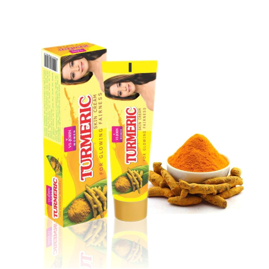 The Cream Is Composed Of Natural Ingredients Like Haldi Turmeric