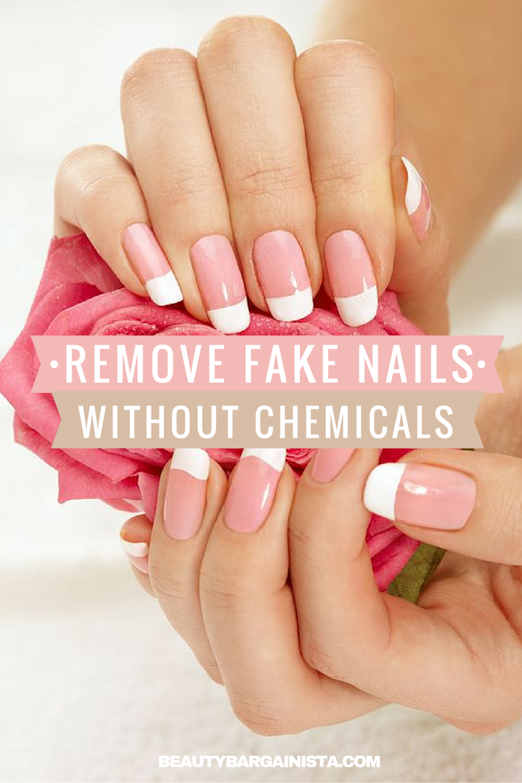 Teeth Nails How To Remove Fake Nails Without Acetone Or Chemic Take Off Acrylic Nails Remove Acrylic Nails Acrylic Nails At Home