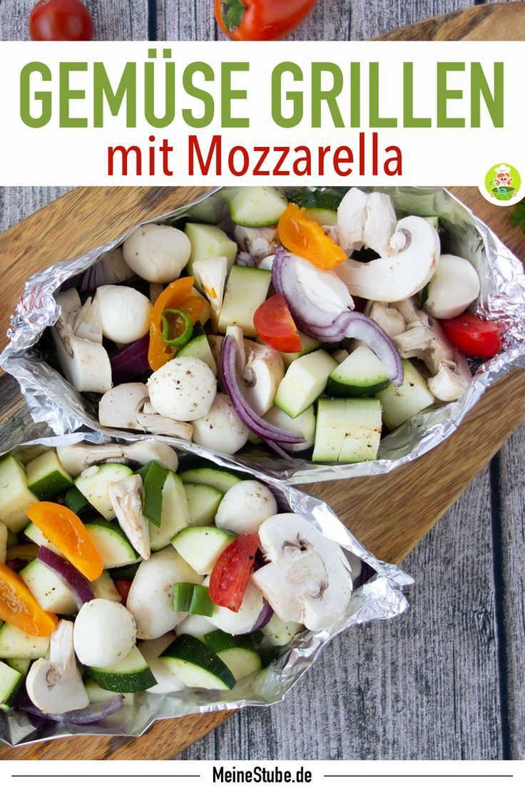Photo of Vegetable parcel with mozzarella for the grill – my room