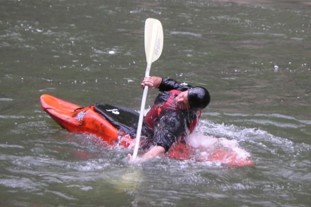 Learn to Eskimo Roll Your Kayak: Step Three: The Hip-Snap