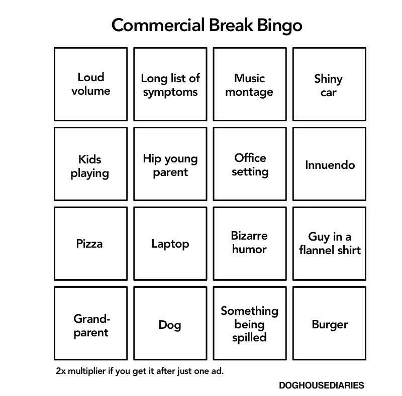 Pin By Hannah Wood On Funny Bingo Tv Commercials How To