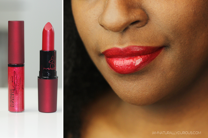 Viva Glam Rihanna frost lipstick and lipglass
