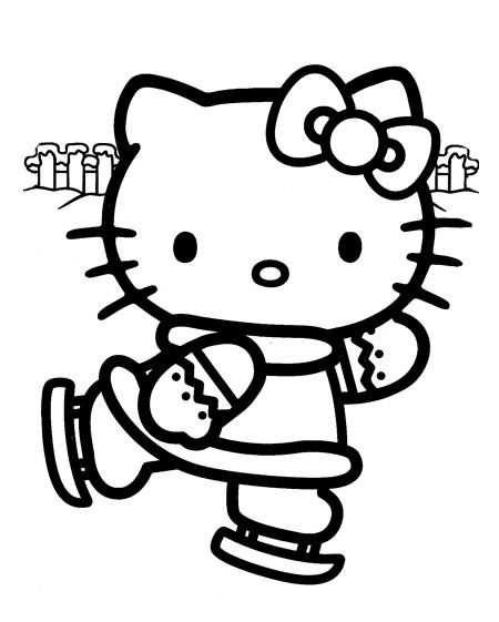 HELLO KITTY COLORING: HELLO KITTY CHRISTMAS COLORING SHEETS | The ...