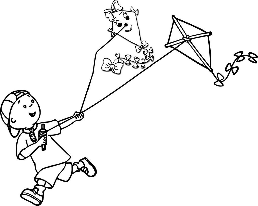 Pin Oleh Illustration Designer Di Kite Coloring Pages For Boys