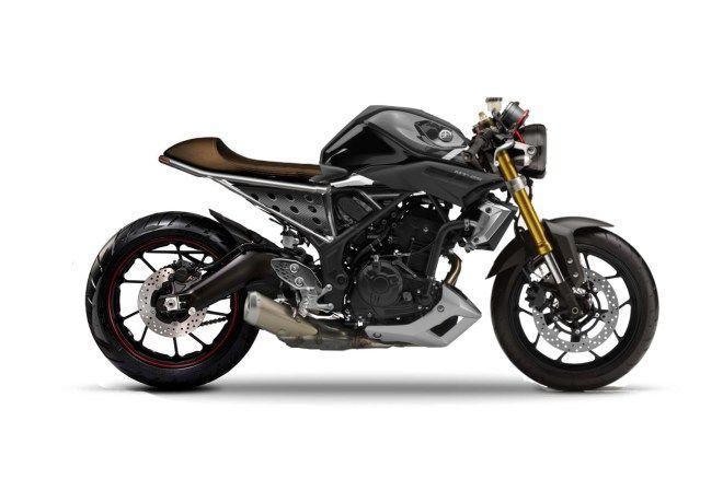 Modifikasi Yamaha Mt25 Ala Caferacer