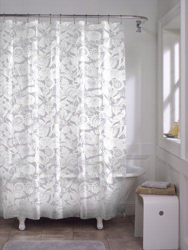Amazon Com Maytex Sea Shells Peva Shower Curtain Maytex