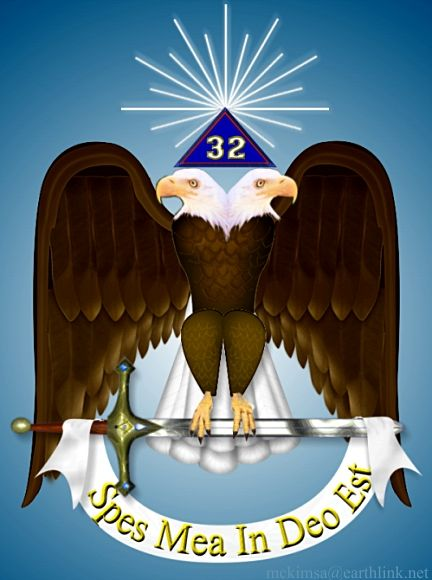 33rd Degree Scottish Rite Masonic Sign Stock Photo (Edit Now) 177935912