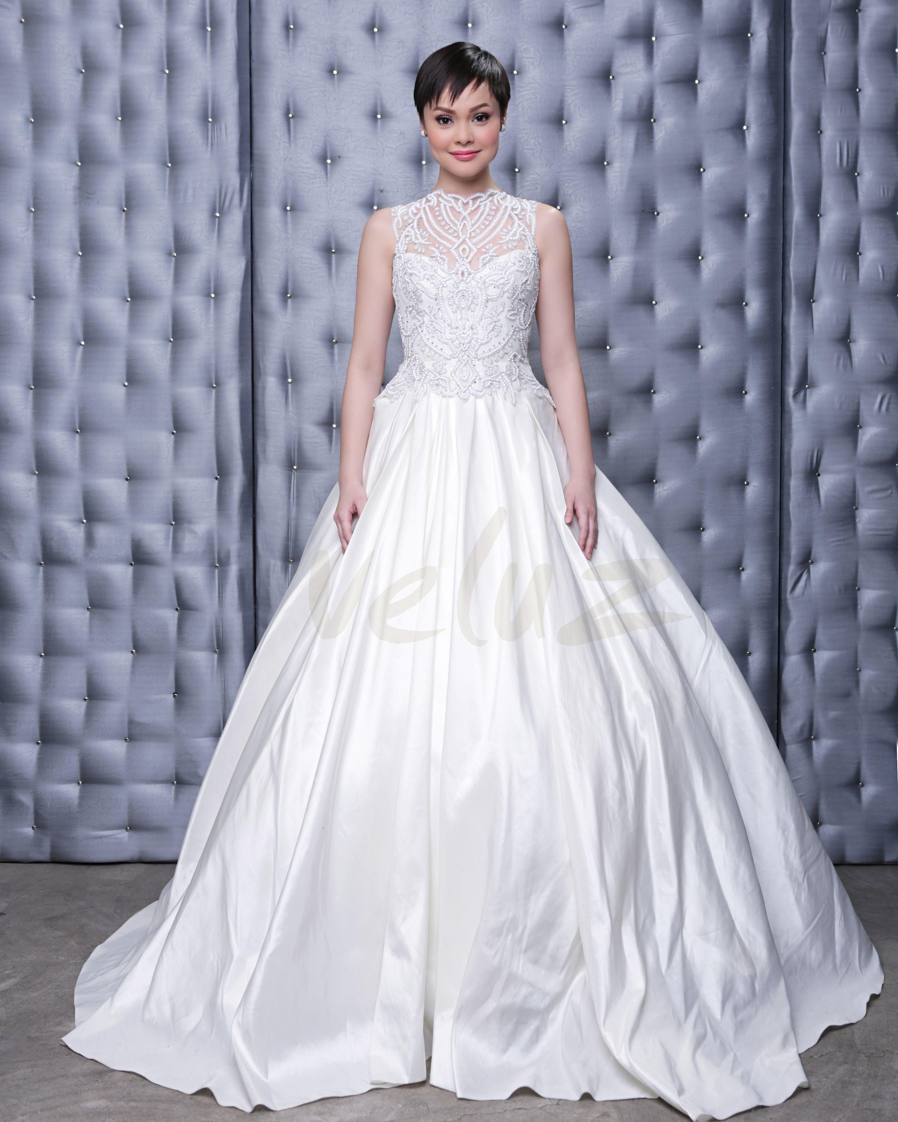 Bettina dress | Model: Caroline Ruegg | Veluz RTW 2014 | Pinterest