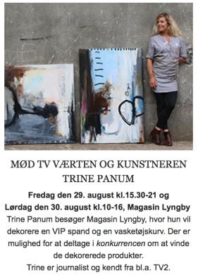 Trine Panum Malerier Kunstnere Billeder
