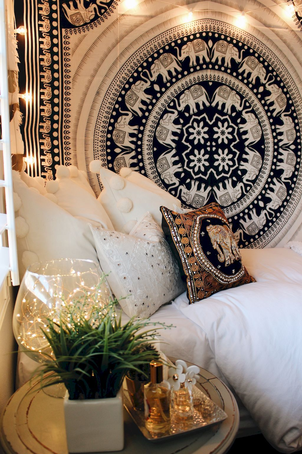 85 Stunning Bohemian Style Interior Design Ideas For Your: 85 Beautiful And Elegance Chic Bohemian Bedroom Decor