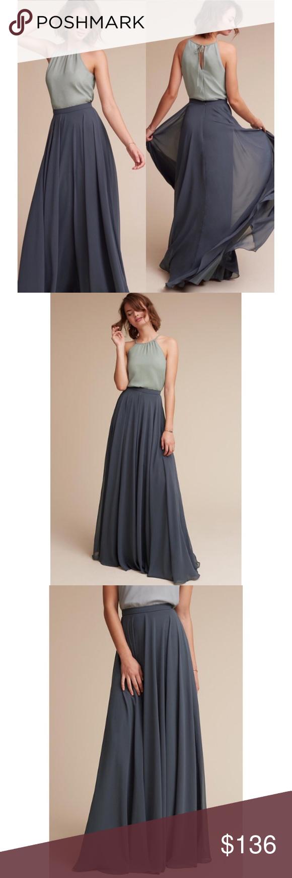 b945d1eb78 Jenny Yoo Hampton Skirt BHLDN Anthropologie Bridal Jenny Yoo Collection  Hampton Formal Long Skirt From BHLDN