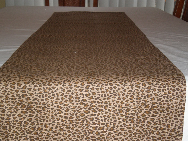 Extra Wide Italian Woven Giraffe Spot Table Runner 95 X 26 Inches | Party  Ideas | Pinterest