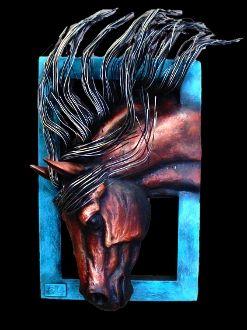 Metal Horse Art