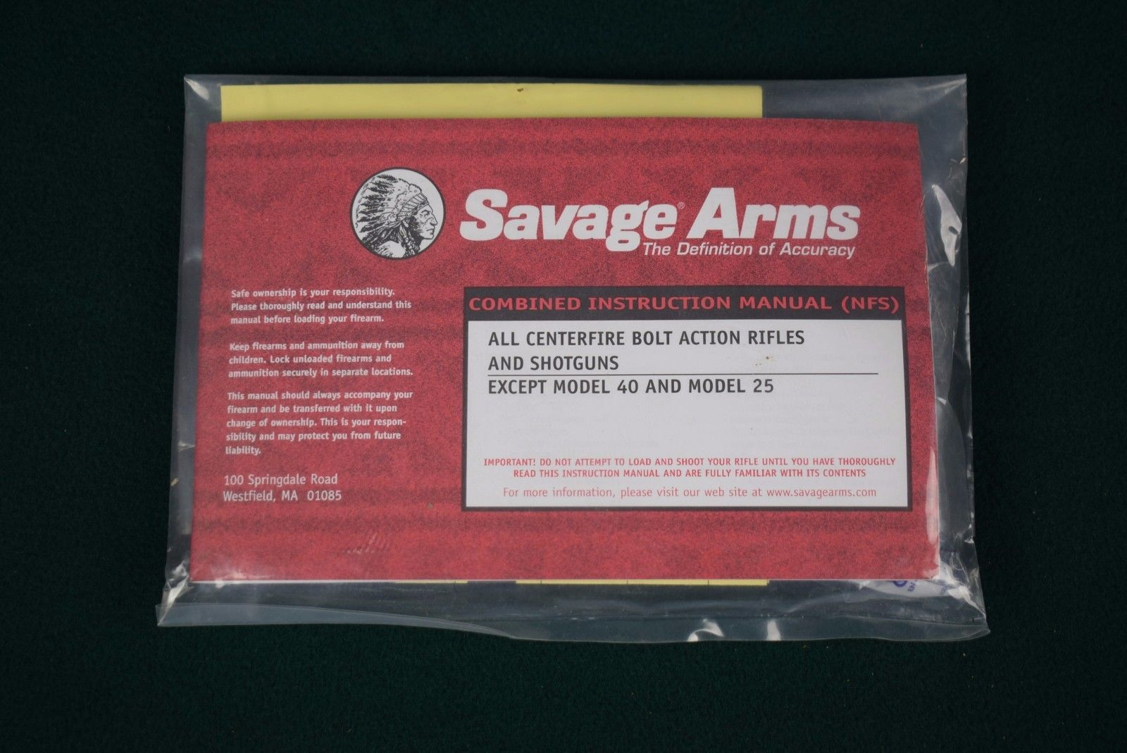 savage gun manual product user guide instruction u2022 rh testdpc co Savage Arms .22 Savage Arms 17 Super Magnum