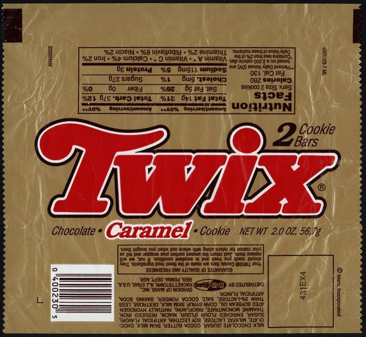 candy bar labels