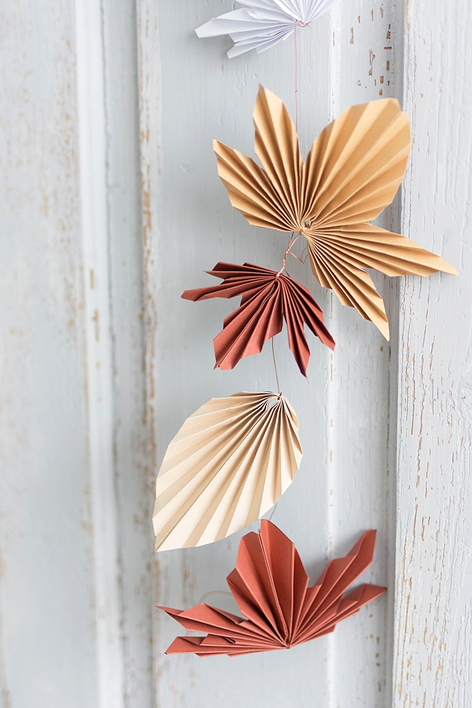 Photo of DIY | Autumnal paper garland – Sinnenrausch – The creative DIY blog for the homely and do-it-yourself