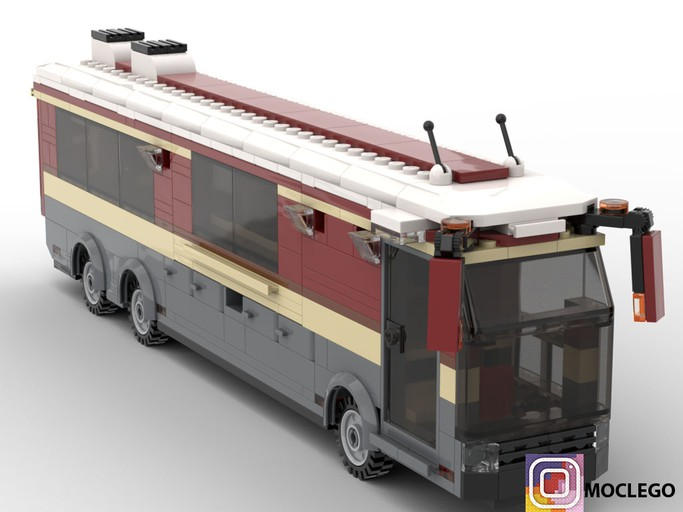 exquisite style buy best new list Bus coach RV version | My own creation LEGO (MOC)