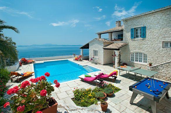 Villa Athina, Kaminaki, Corfu, Greece. Find more at www