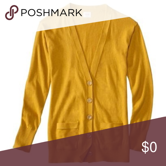 ISO yellow cardigan this is not for sale. ISO mustard yellow ...