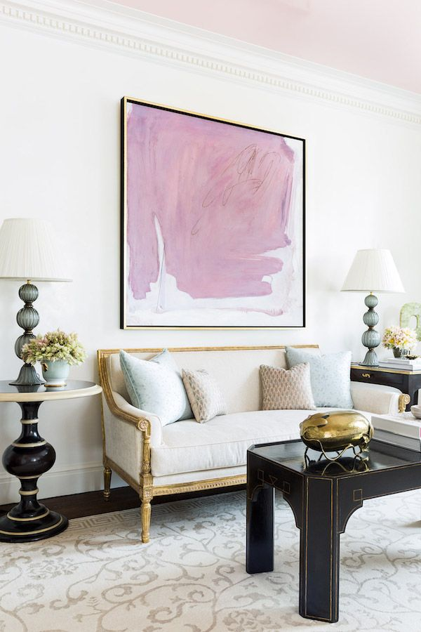 Abstract Room Designs: Home Tour: Fifth Avenue Chic