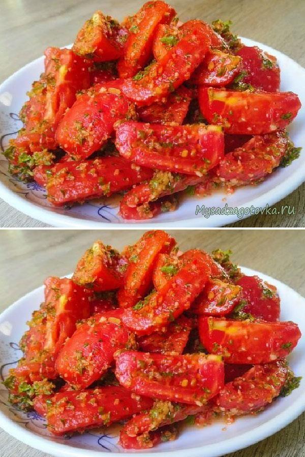 Восхитительные помидоры с необычным ингредиентом #foodrecipies