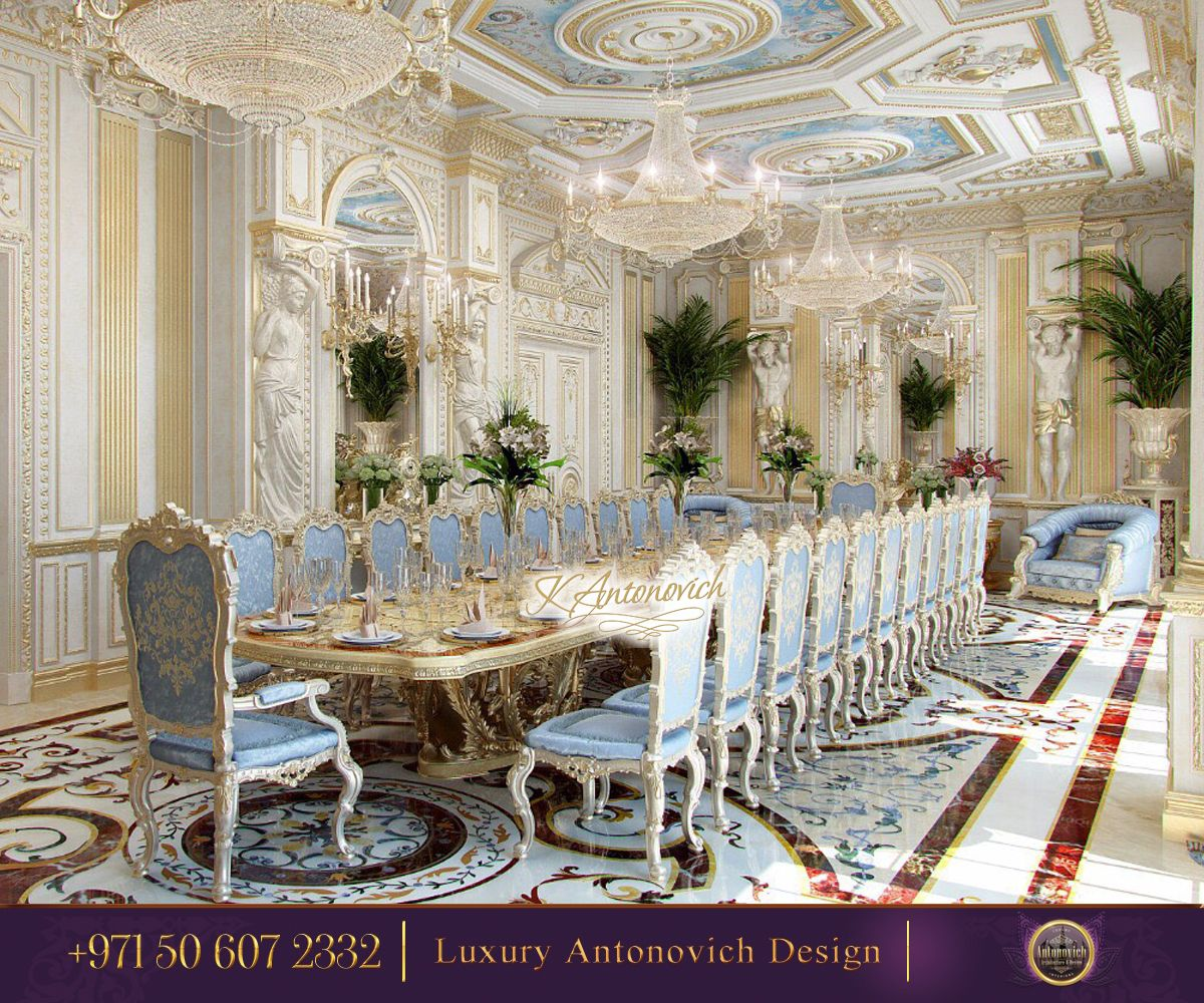 Royal Kitchen Design: Royal Interior Solution From Luxury Antonovich Design