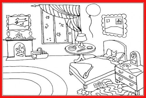 Goodnight Moon Colouring Page Amy Goodnight Moon Pinterest