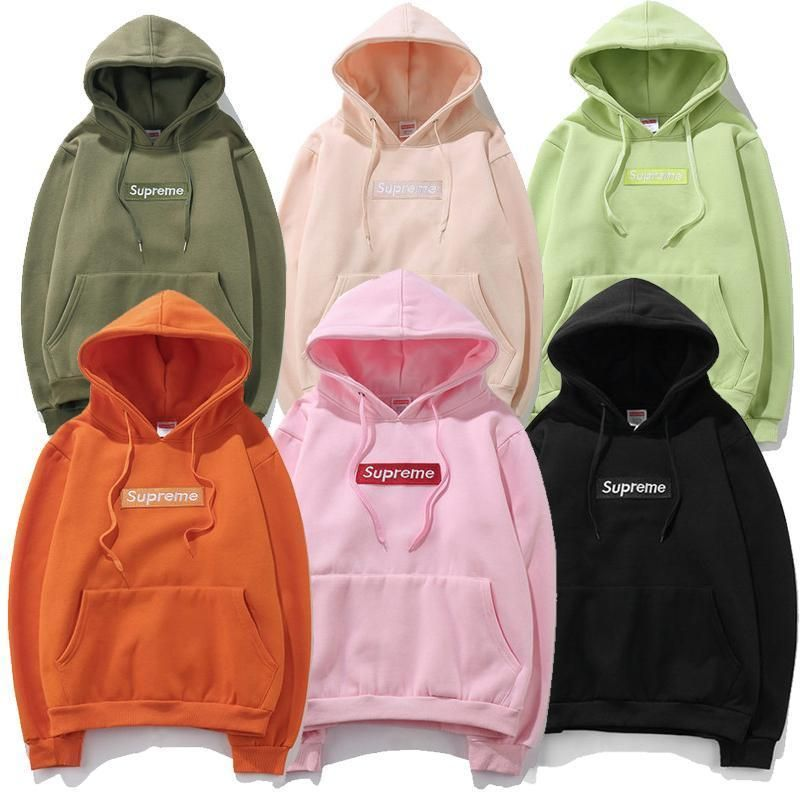 ce7a8a50746a ALL Colors SUPREME HOODIE Sweater Unisex Cotton Logo Embroidered NEW WITH  TAG  Supreme  Hoodie