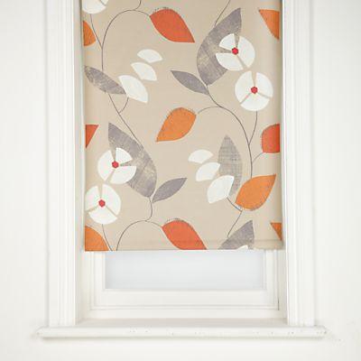 buy john lewis mayflower blackout roller blinds clementine online at john