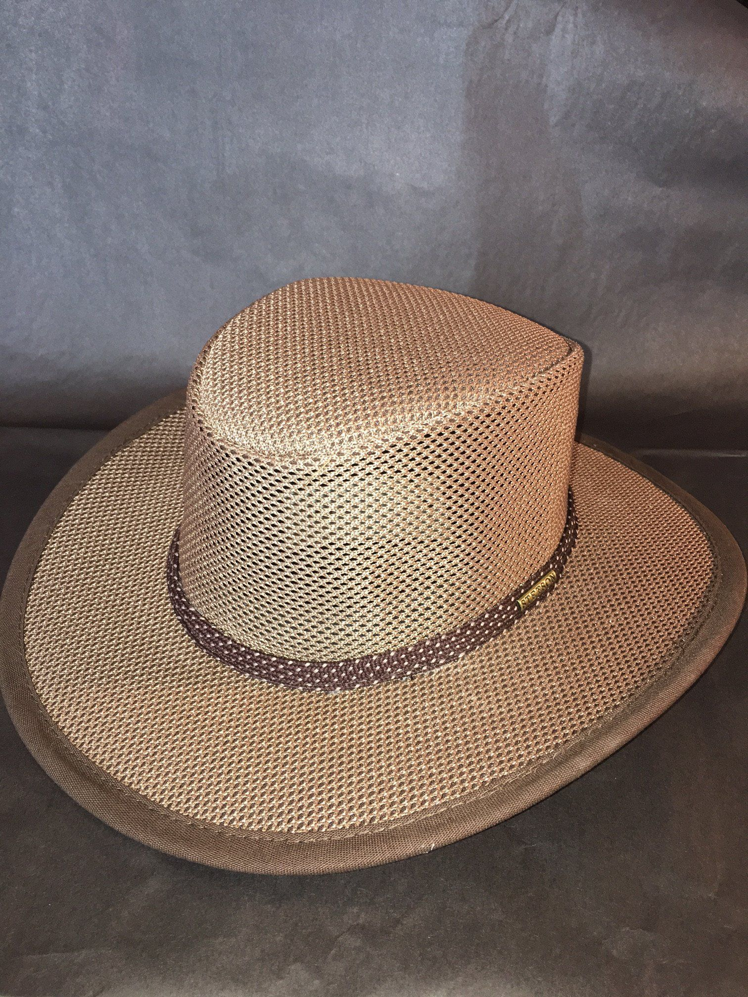 e00a0955b1e Walkabout Soakable Mesh Hat by Stetson, Cool Mesh Crushable Safari Hat
