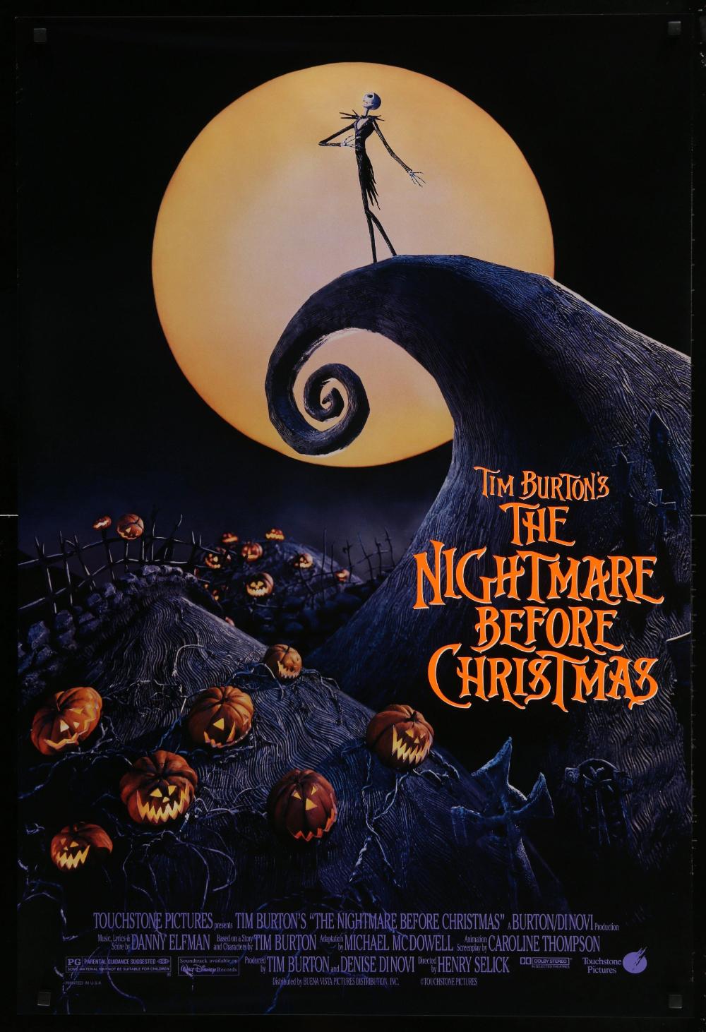 The Nightmare Before Christmas in 2020 Nightmare before