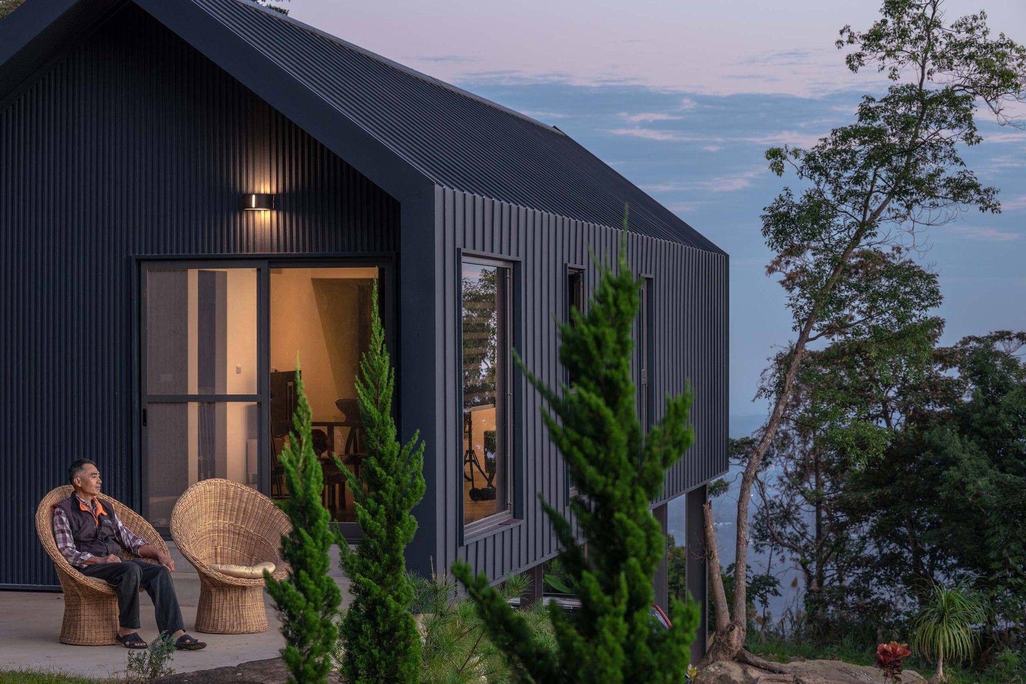Dh House Uz Architecture House On Stilts Architecture