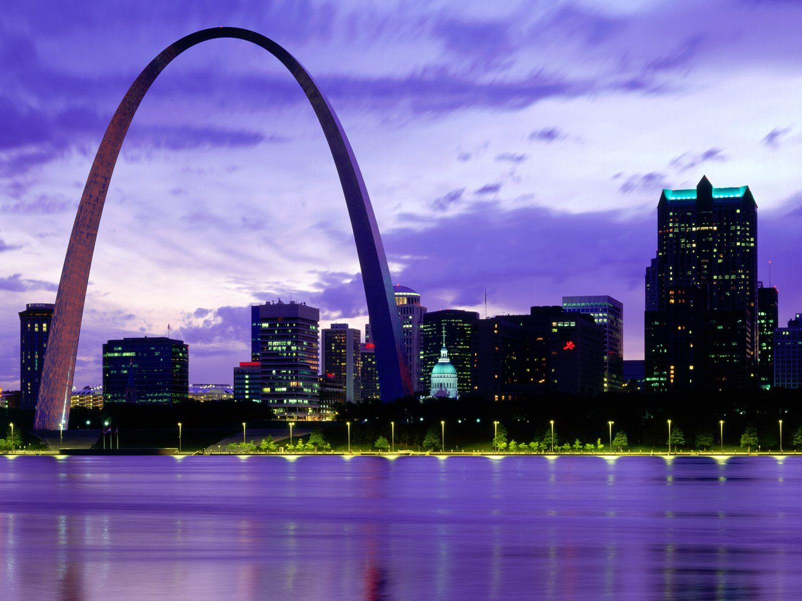 Beautiful Usa Places Gateway Arch St Louis High Definition