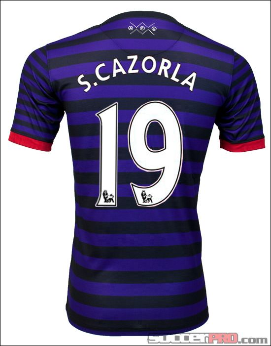 huge discount 67a08 9fb0c Nike Arsenal Cazorla Away Jersey 2012-2013...$94.49 ...